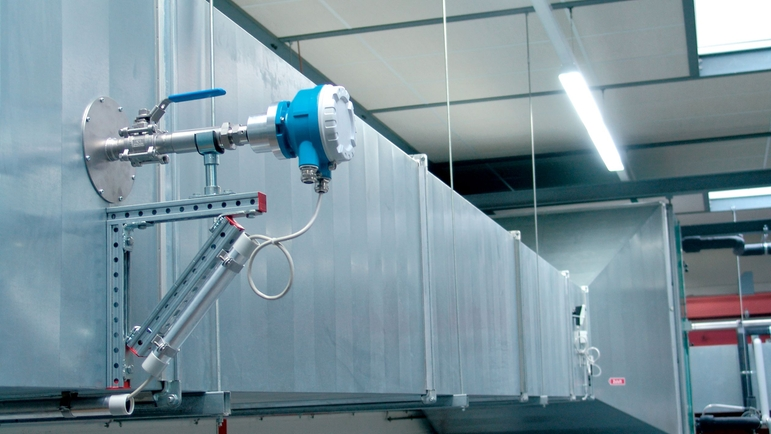 direct mass flow measurement in a compressed air system with t-mass 65I