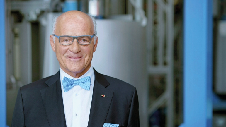 Klaus Endress, President of the Supervisory Board of the Endress+Hauser Group.